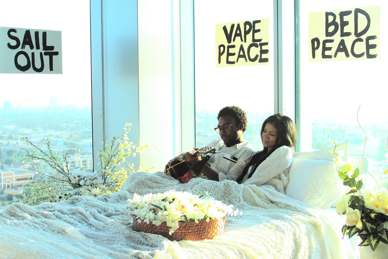 jhene-aiko-childish-gambino-2013Bed Peace Jhene Aiko
