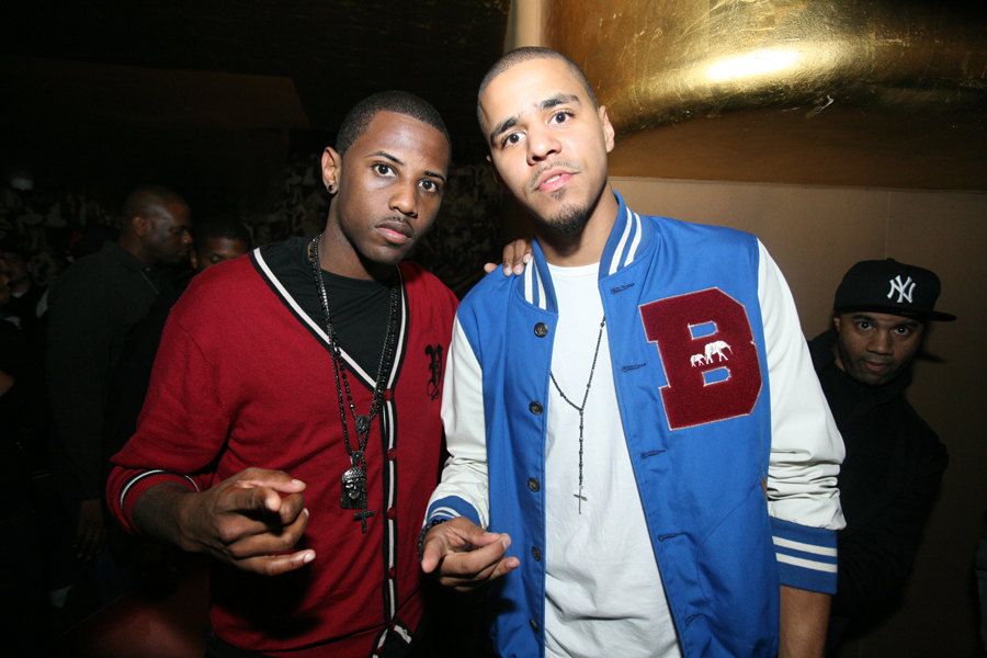 J. Cole and Fabolous hustleGRL