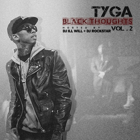black thoughts 2 tyga cover art