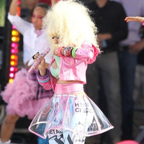 Nicki Minaj Has A Nip Slip