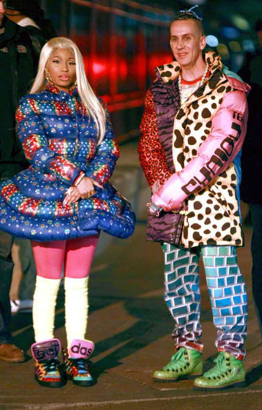 nicki minaj and jeremy scott