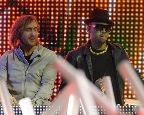 chris brown and david guetta
