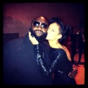 rick ross and rihanna at met gala 2012