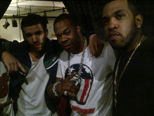 drake bust rhymes and lloyd banks