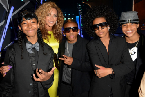 Beyonce and Mindless Behavior