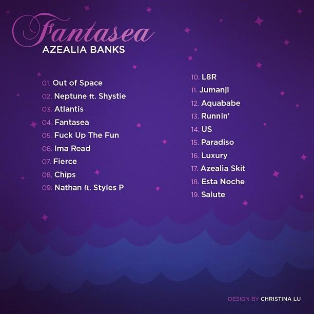 fantasea azealia banks tracklist