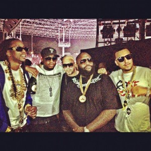 2 chainz meek mill rick ross french montana ovo fest 2012