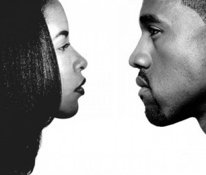 aaliyah and kanye west