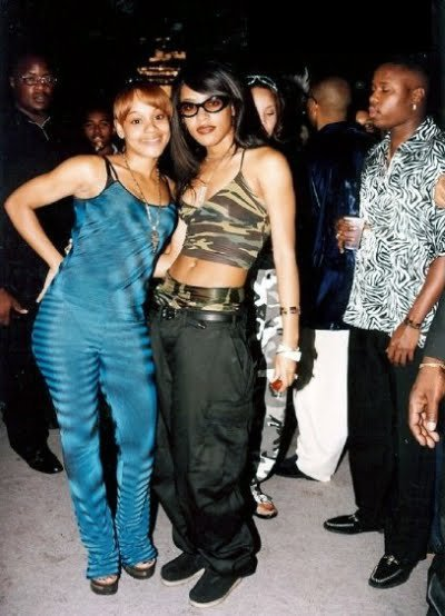 aaliyah and left eye