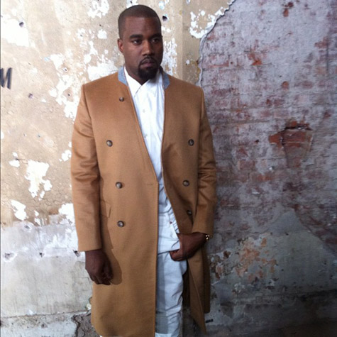 kanye west margiela launch