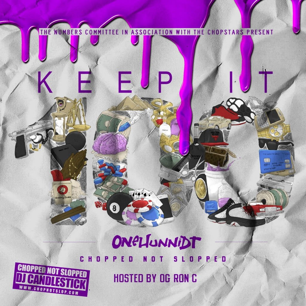 keep it 100 onehunnidt og ron c