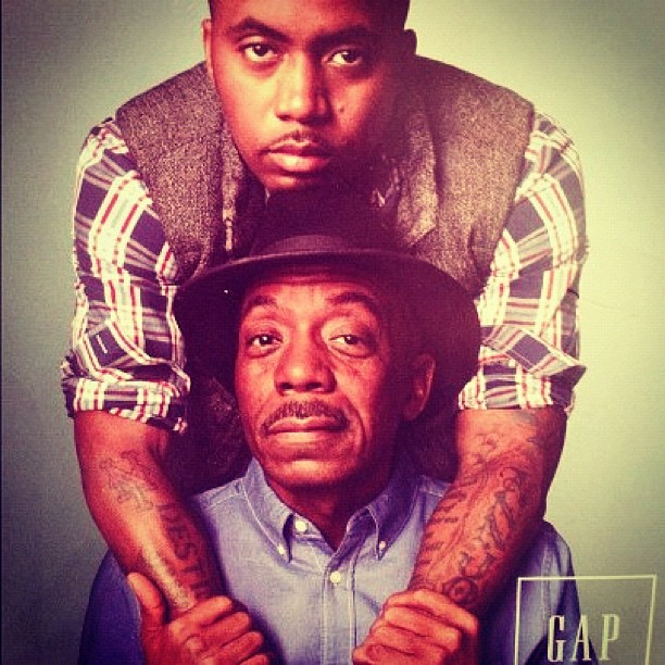 nas and dad olu dara