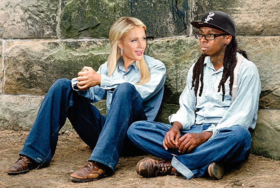 paris hilton and lil wayne