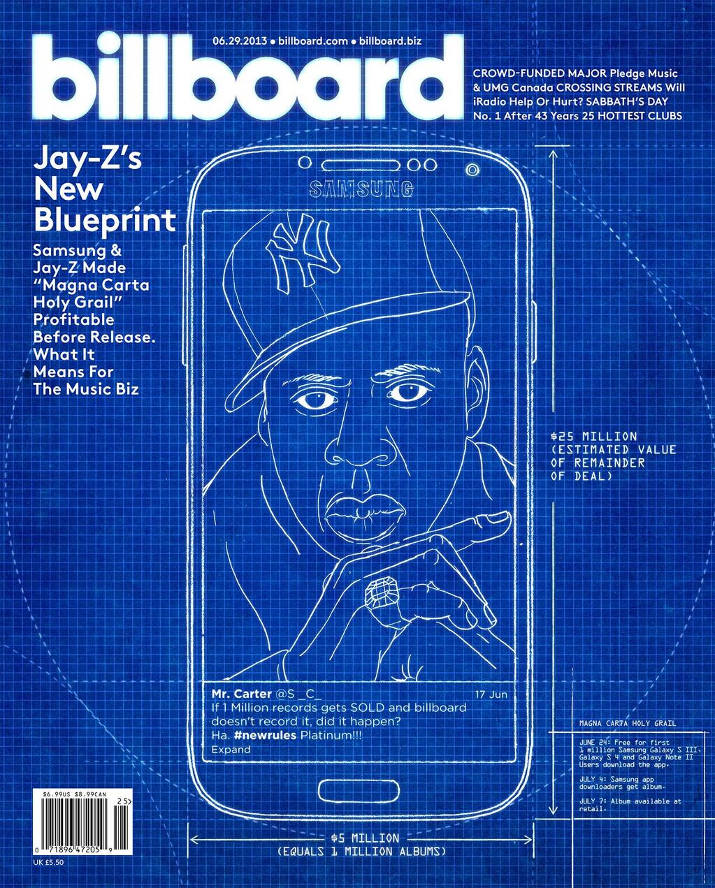 Jay zs new blueprint graces the cover of billboard magazine jay z blueprint billboard magazine malvernweather Images