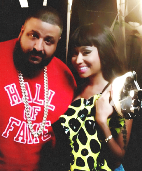 nicki minaj and dj khaled
