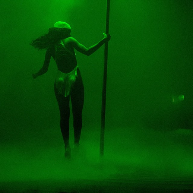 Rihanna Stripper Pole
