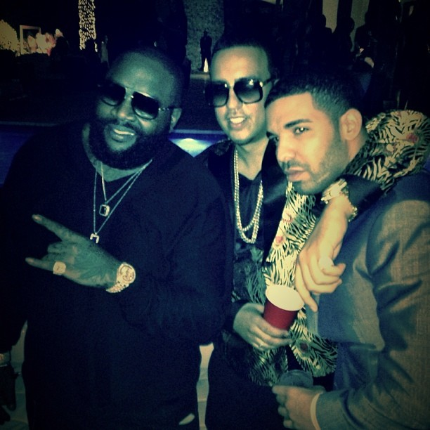 rick ross french montana drake 2014 miss dimplez