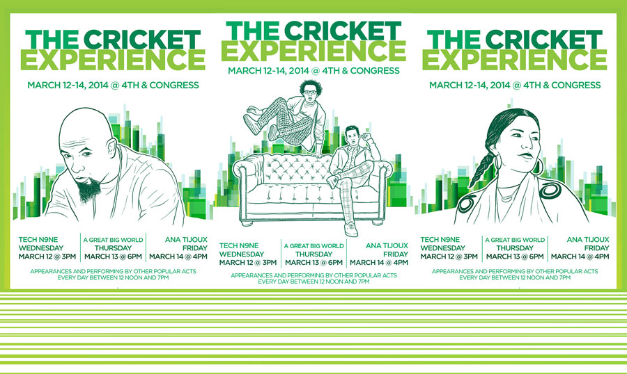 SXSW 2014: The Cricket Experience