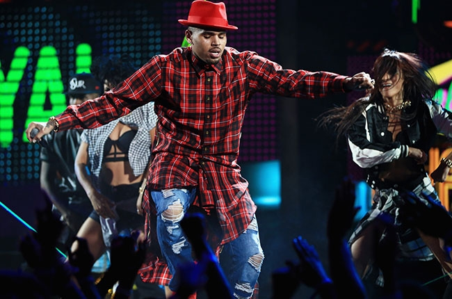 chris brown 2014 bet awards