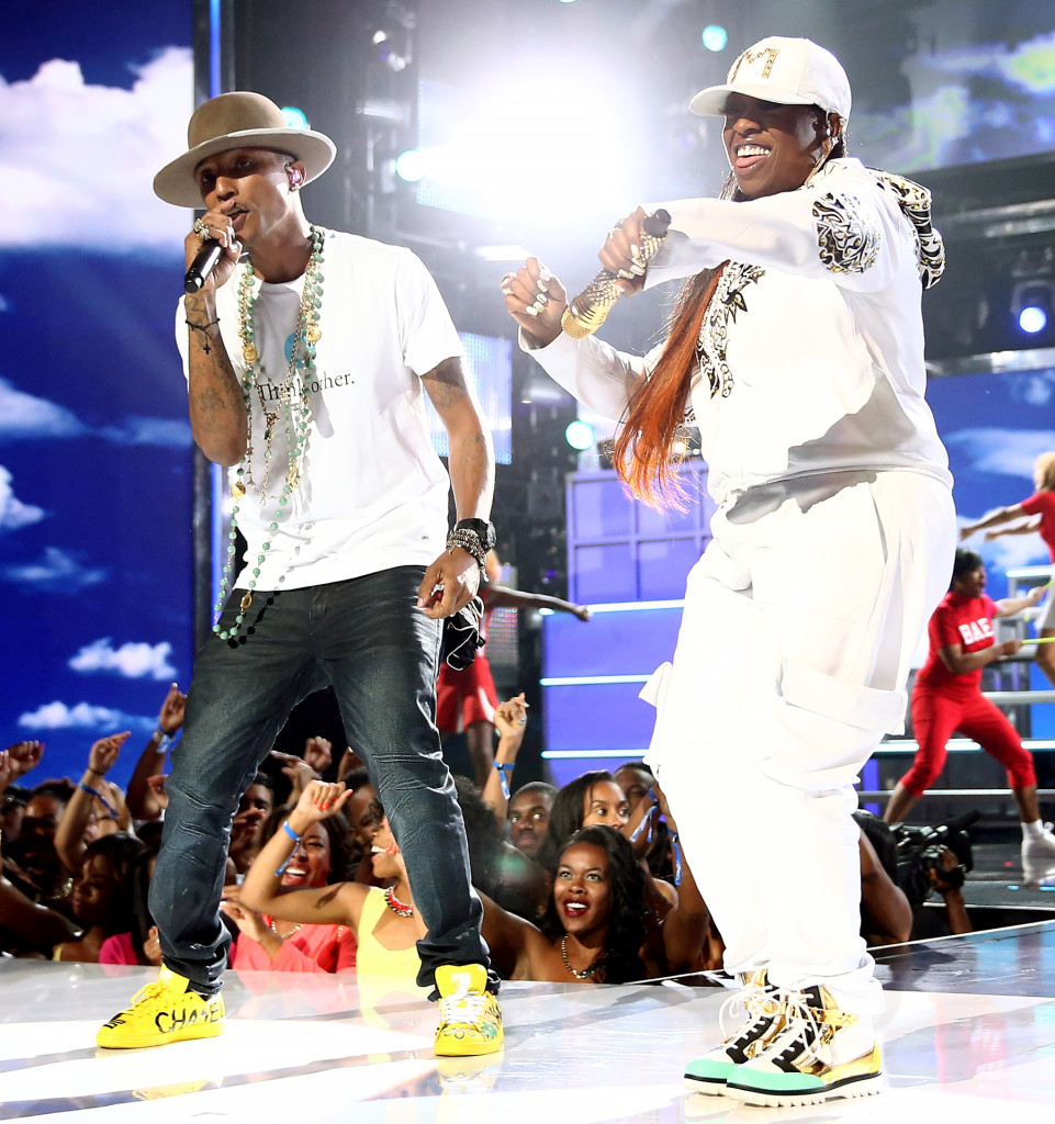 pharrell and missy elliott 2014 bet awards