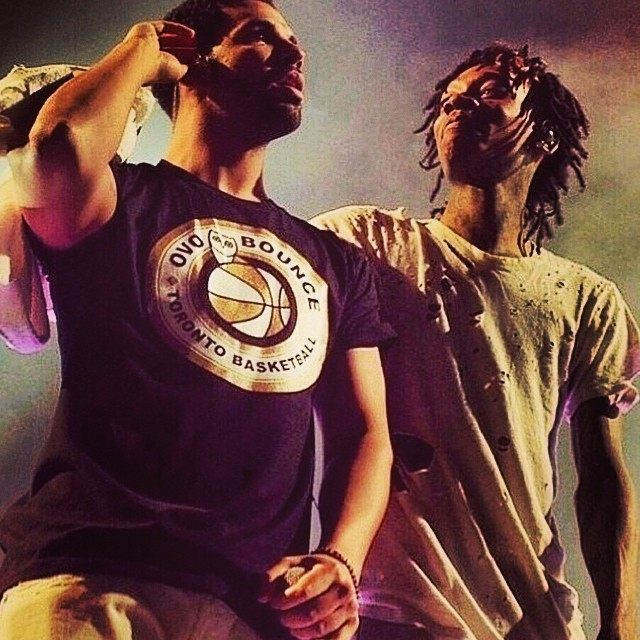 drake and wiz khalifa
