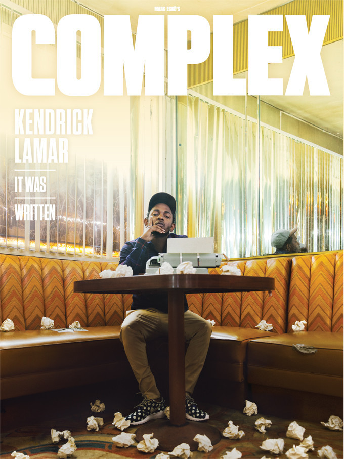 kendrick lamar complesx magazine it was written