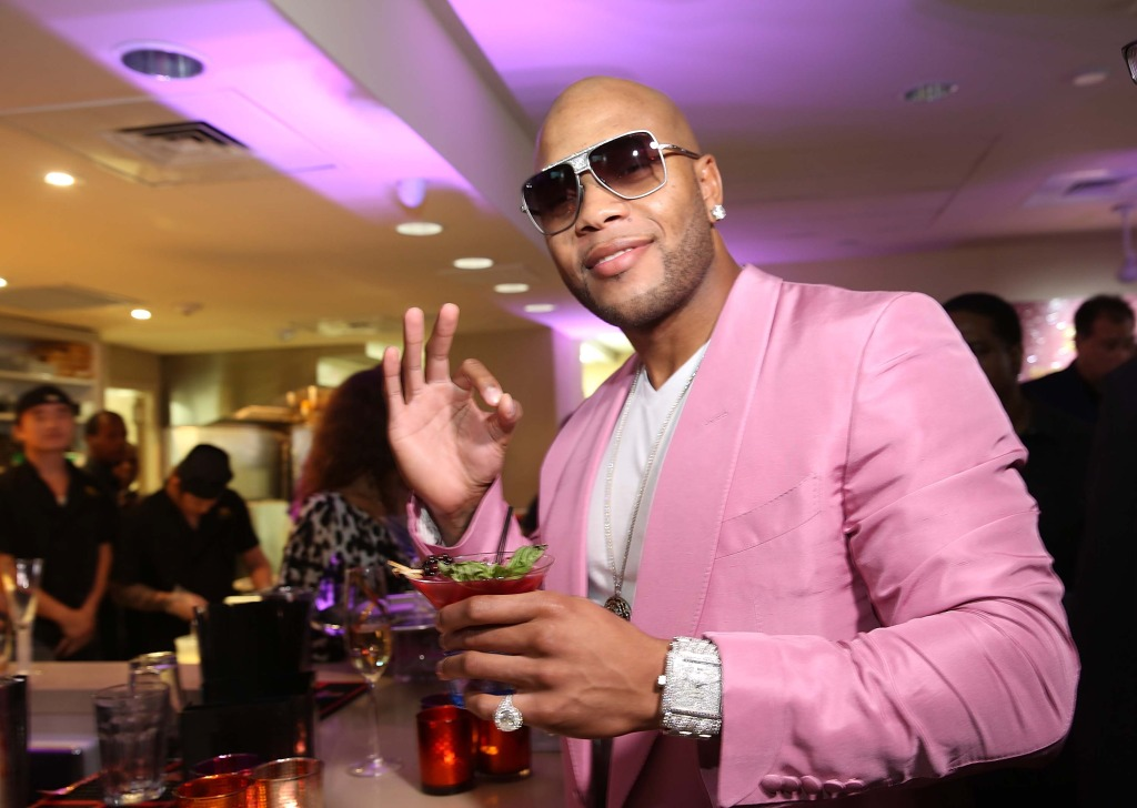 Flo Rida Launch Event