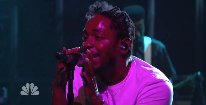 Kendrick-Lamar-SNL-show