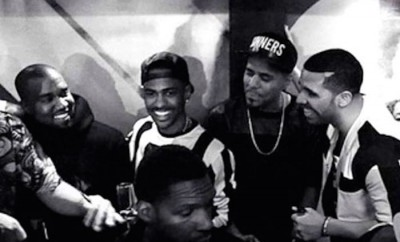 kanye west big sean j cole drake