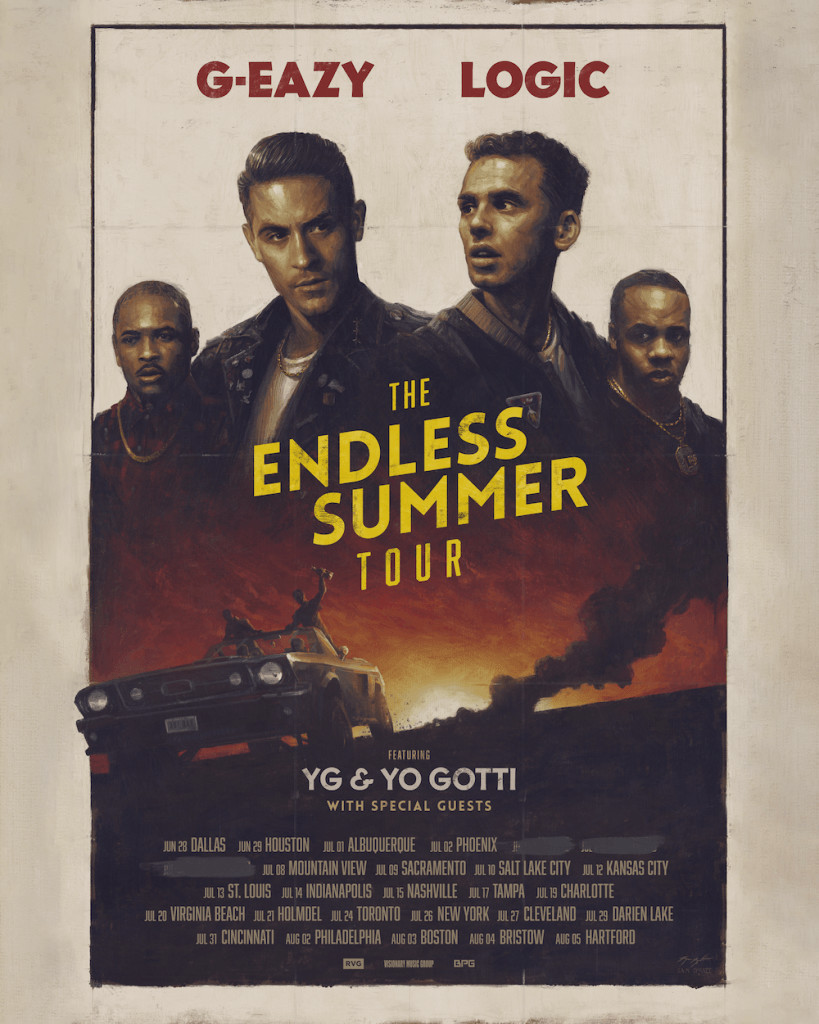 g-eazy logic the-endless-summer-tour