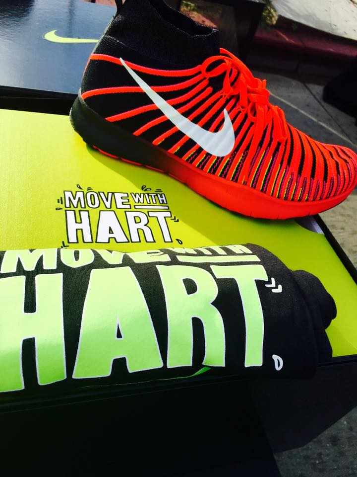 nike move with hart flyknit launch