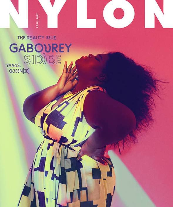 Gabourey Sidibe Covers NYLON's April Issue