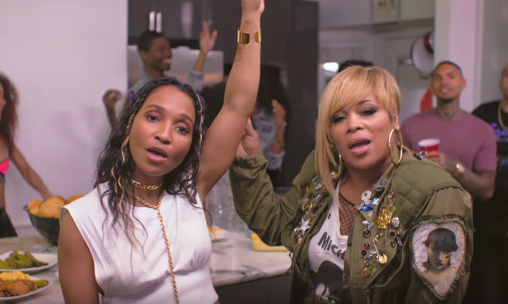 TLC Has A Blast In Video For 'Way Back'